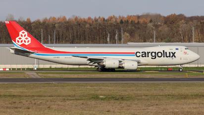 LX-VCG - Cargolux Boeing 747-8F