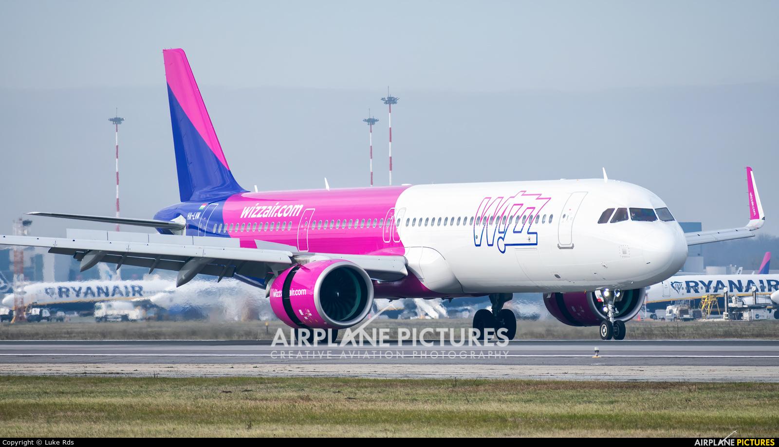 Wizz Air HA-LVM aircraft at Bucharest - Henri Coandă