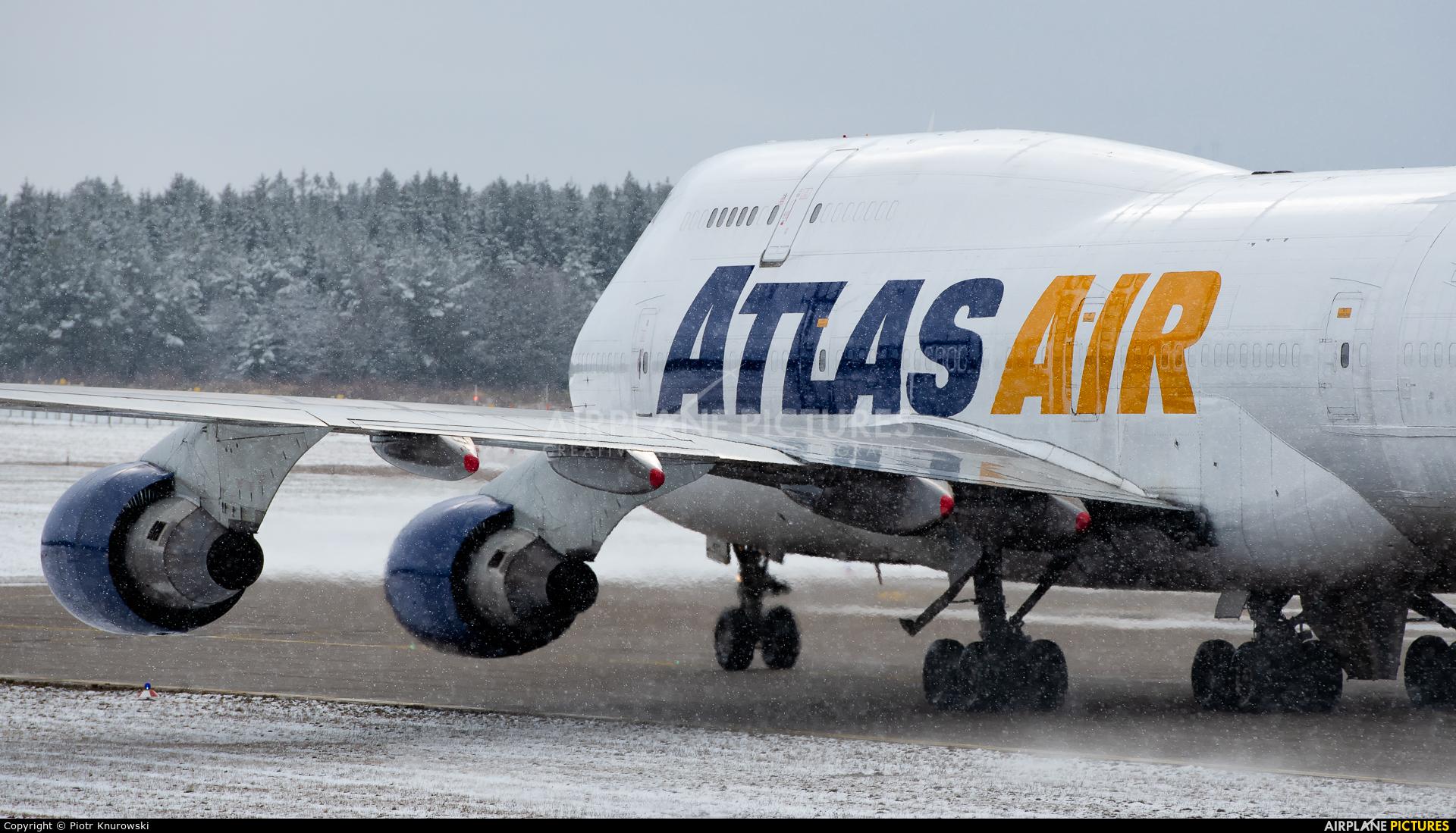 Atlas Air N471MC aircraft at Frankfurt - Hahn