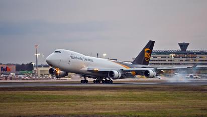 N581UP - UPS - United Parcel Service Boeing 747-400F, ERF