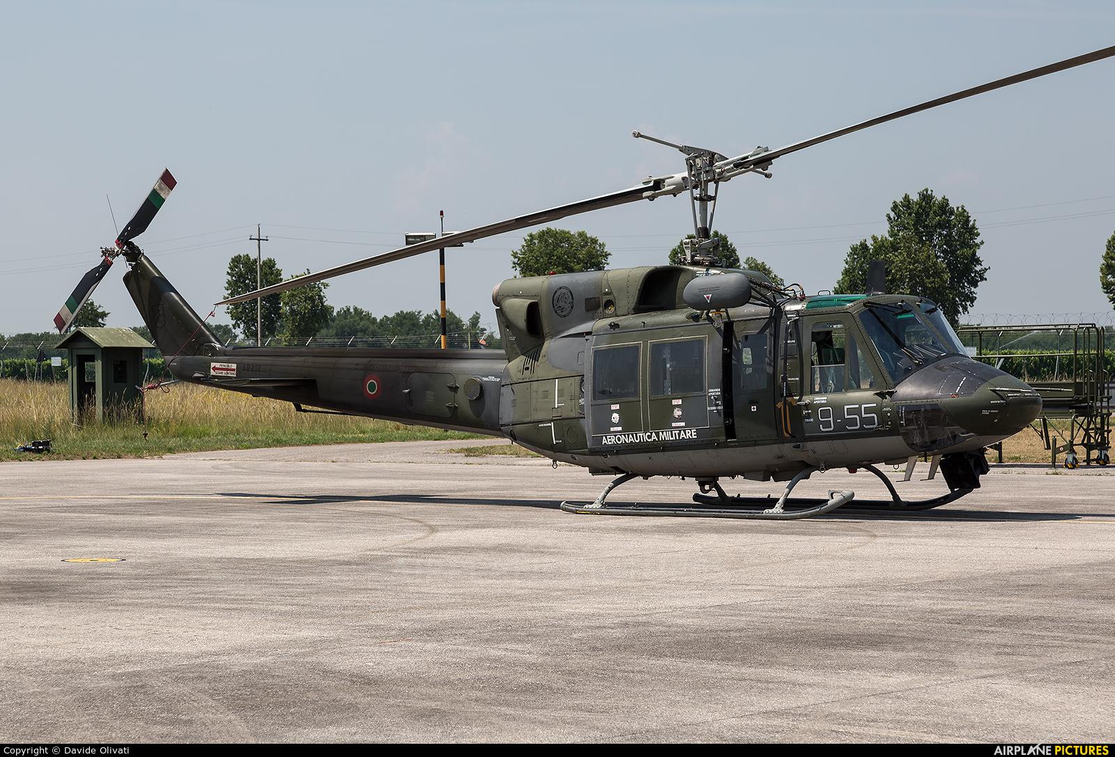 Italy - Air Force MM81155 aircraft at Rivolto