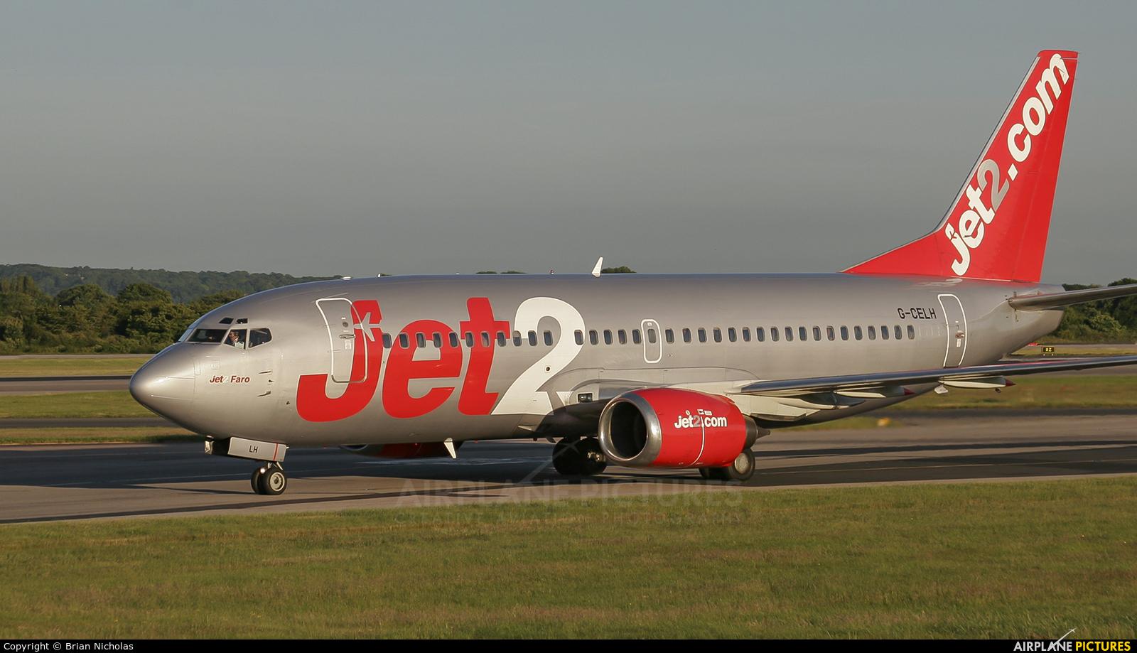 Jet2 G-CELH aircraft at Manchester