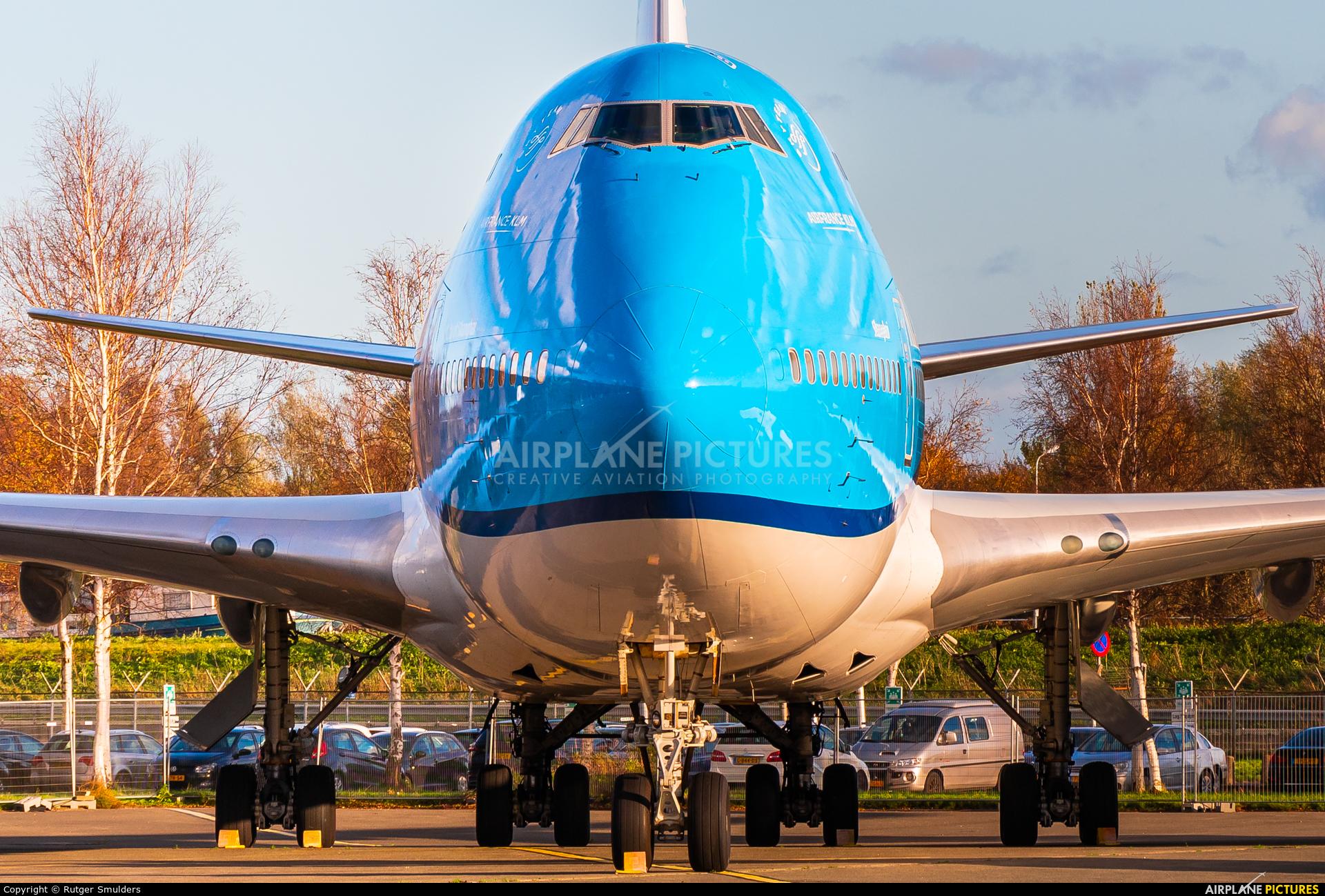 KLM PH-BFW aircraft at Amsterdam - Schiphol