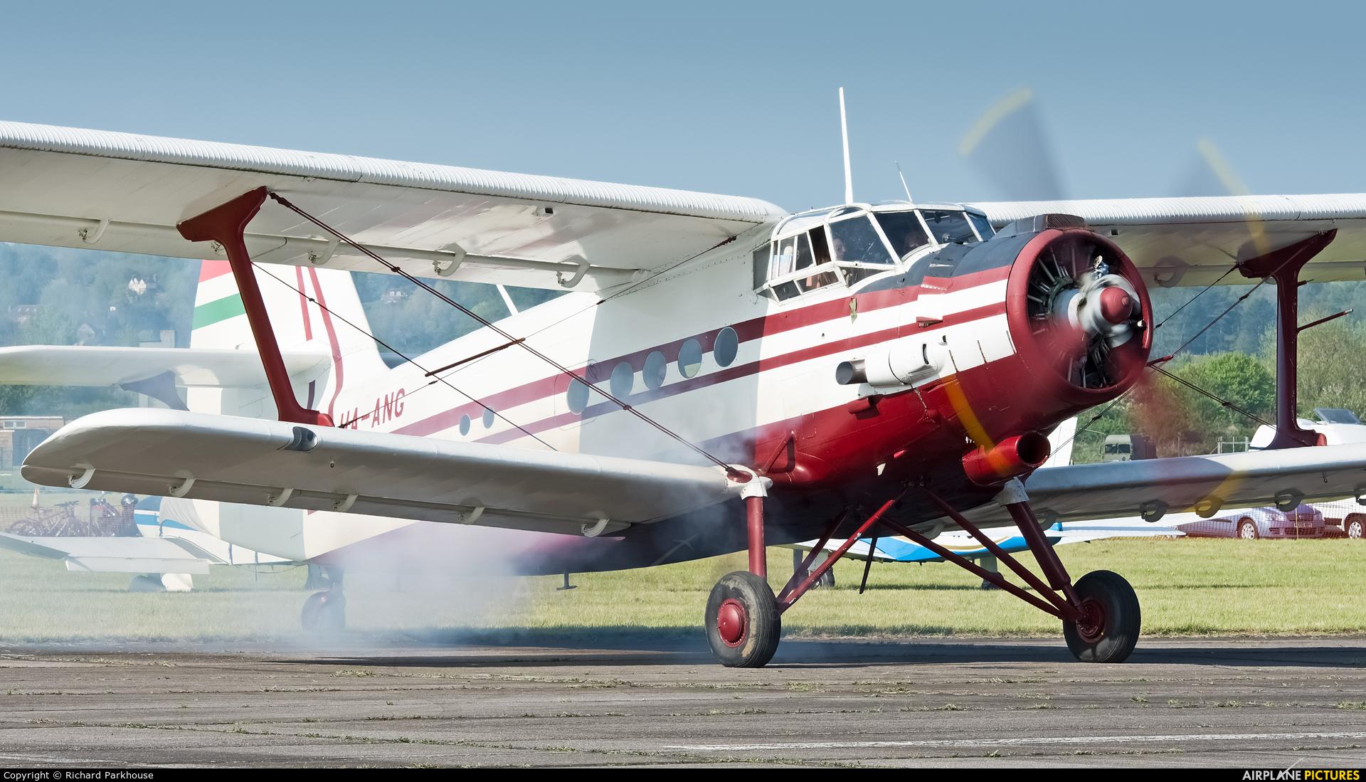 Private HA-ANG aircraft at Abingdon