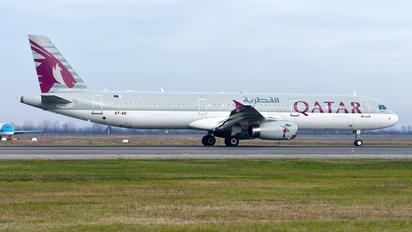 A7-AIC - Qatar Airways Airbus A321