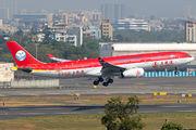 Rare visit of Sichuan A330 to Mumbai title=