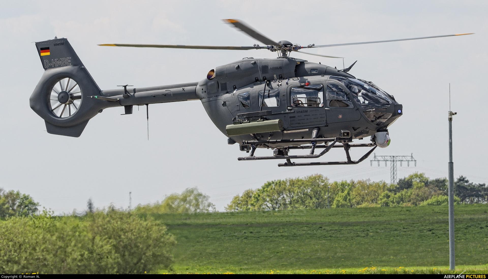 Eurocopter Deutschland GmbH D-HMBE aircraft at Berlin - Schönefeld