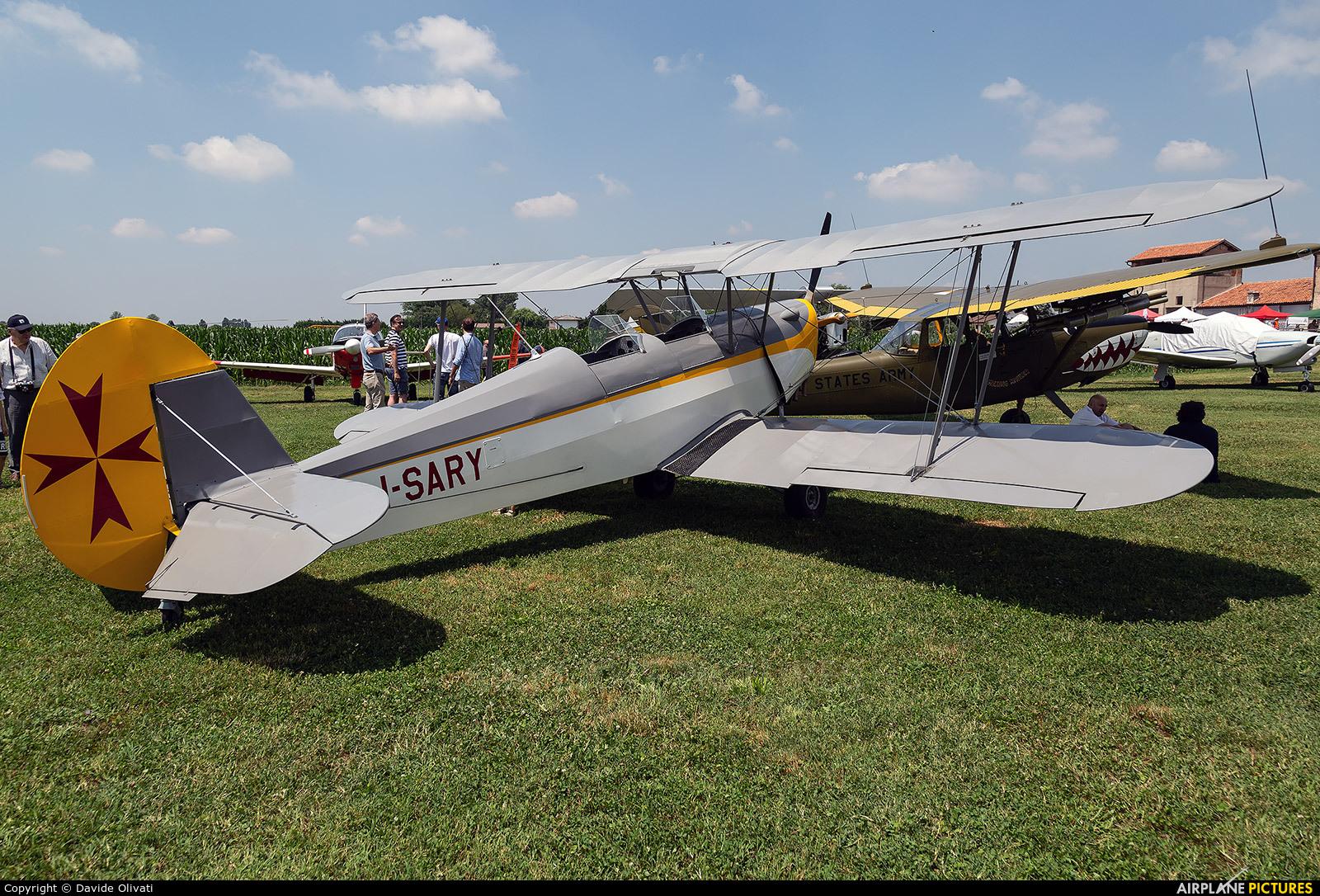 Private I-SARY aircraft at Bagnoli di Sopra