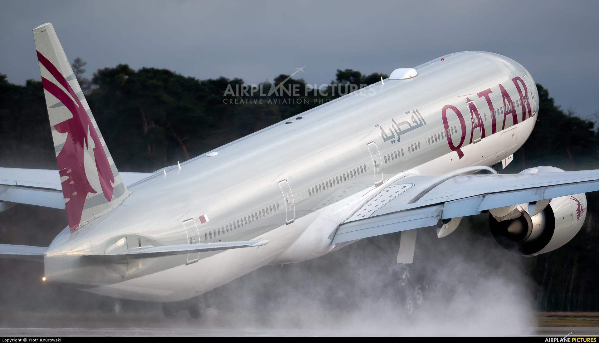 Qatar Airways A7-BAC aircraft at Frankfurt