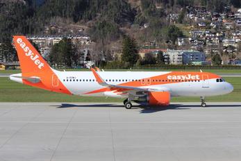 G-EZWJ - easyJet Airbus A320