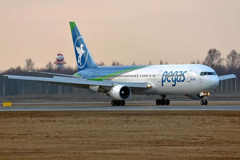VP-BOZ - Pegas Boeing 767-300