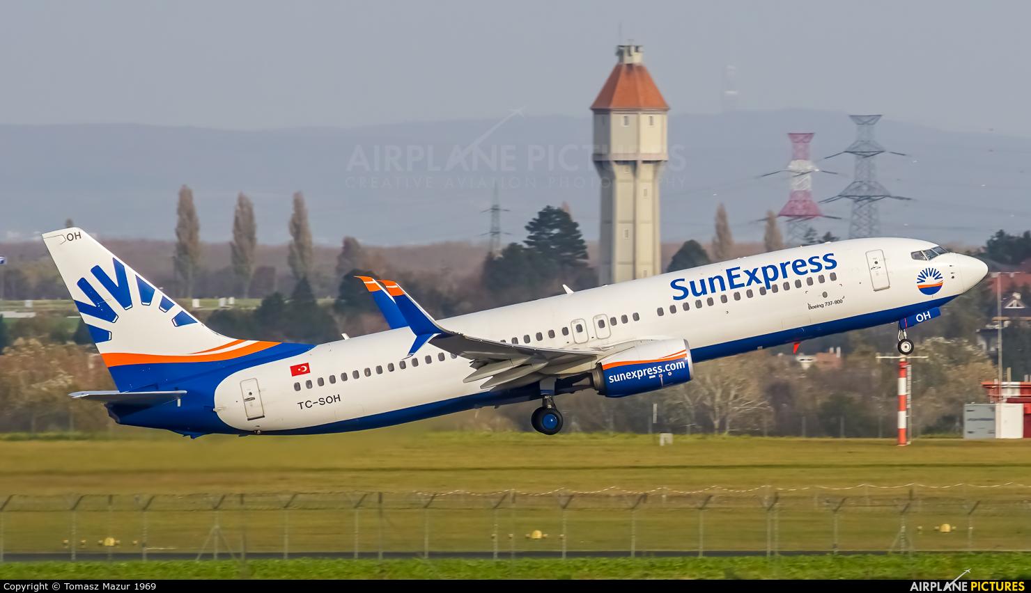SunExpress TC-SOH aircraft at Vienna - Schwechat