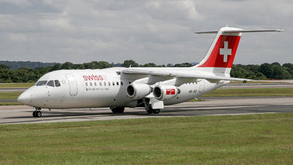 HB-IXO - Swiss British Aerospace BAe 146-300/Avro RJ100