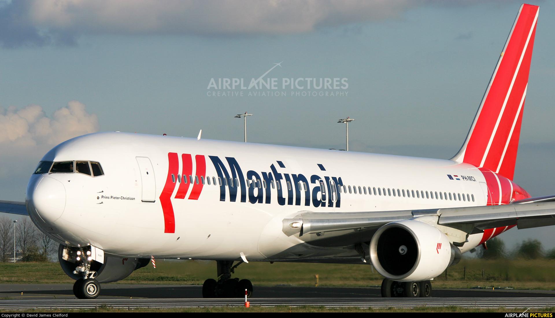 Martinair PH-MCI aircraft at Amsterdam - Schiphol