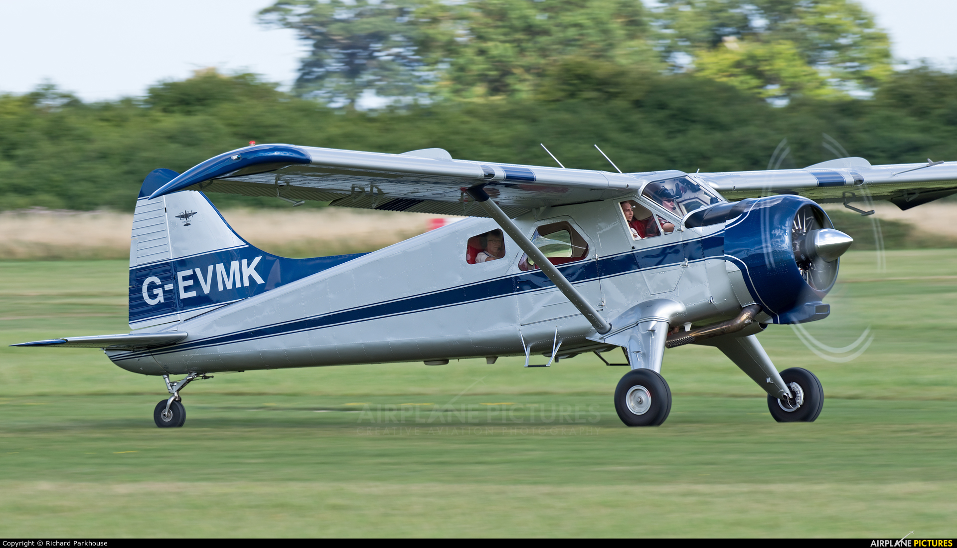 Private G-EVMK aircraft at Old Warden