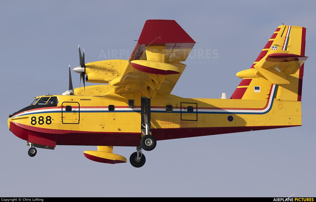 Croatia - Air Force 888 aircraft at Zagreb
