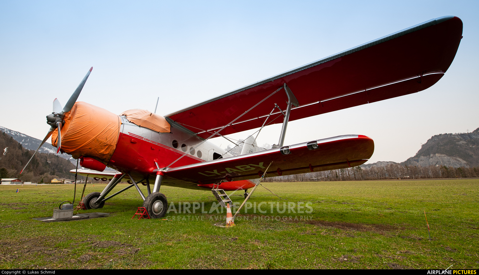 Private LY-ABY aircraft at Off Airport - Switzerland