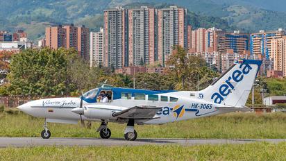 HK-3065 - Aeroejecutivos de Antioquia Cessna 402C