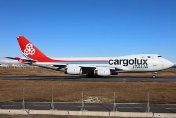 LX-SCV - Cargolux Italia Boeing 747-400F, ERF