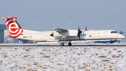 SP-EQL - LOT - Polish Airlines de Havilland Canada DHC-8-402Q Dash 8