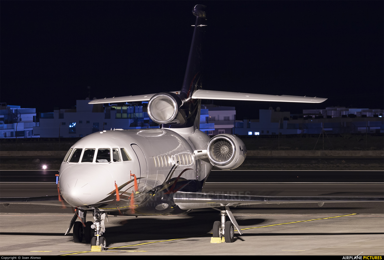 Dassault Aviation M-AKKA aircraft at Tenerife Sur - Reina Sofia