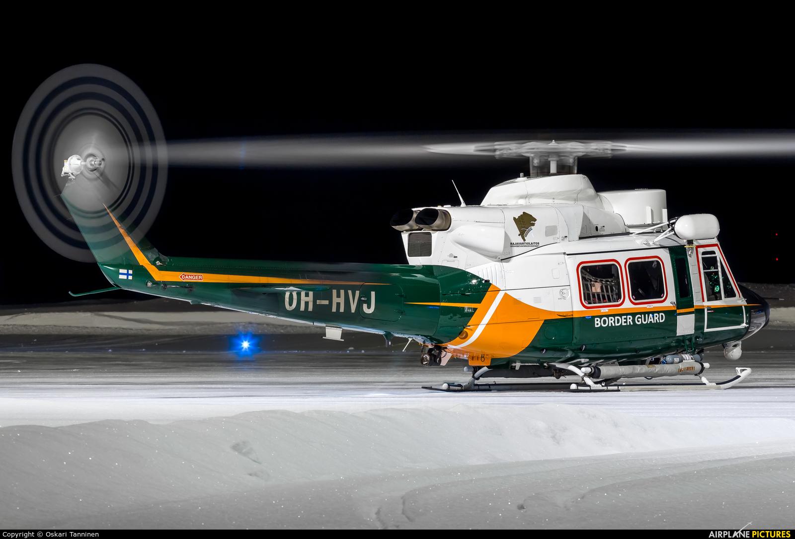 Finland - Border Guard OH-HVJ aircraft at Kittilä