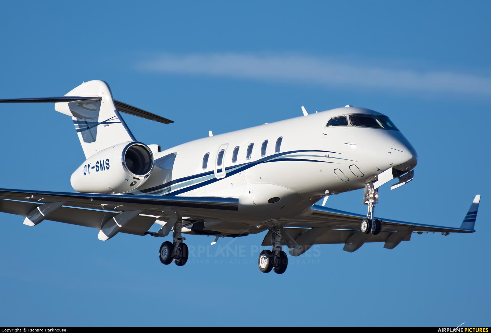 Execujet Europa AS OY-SMS aircraft at Farnborough