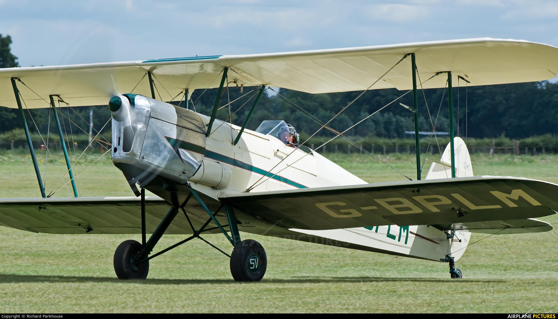 Private G-BPLM aircraft at Lashenden / Headcorn
