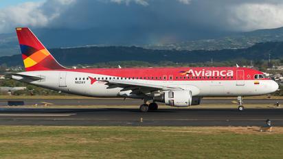 N821AV - Avianca Airbus A320