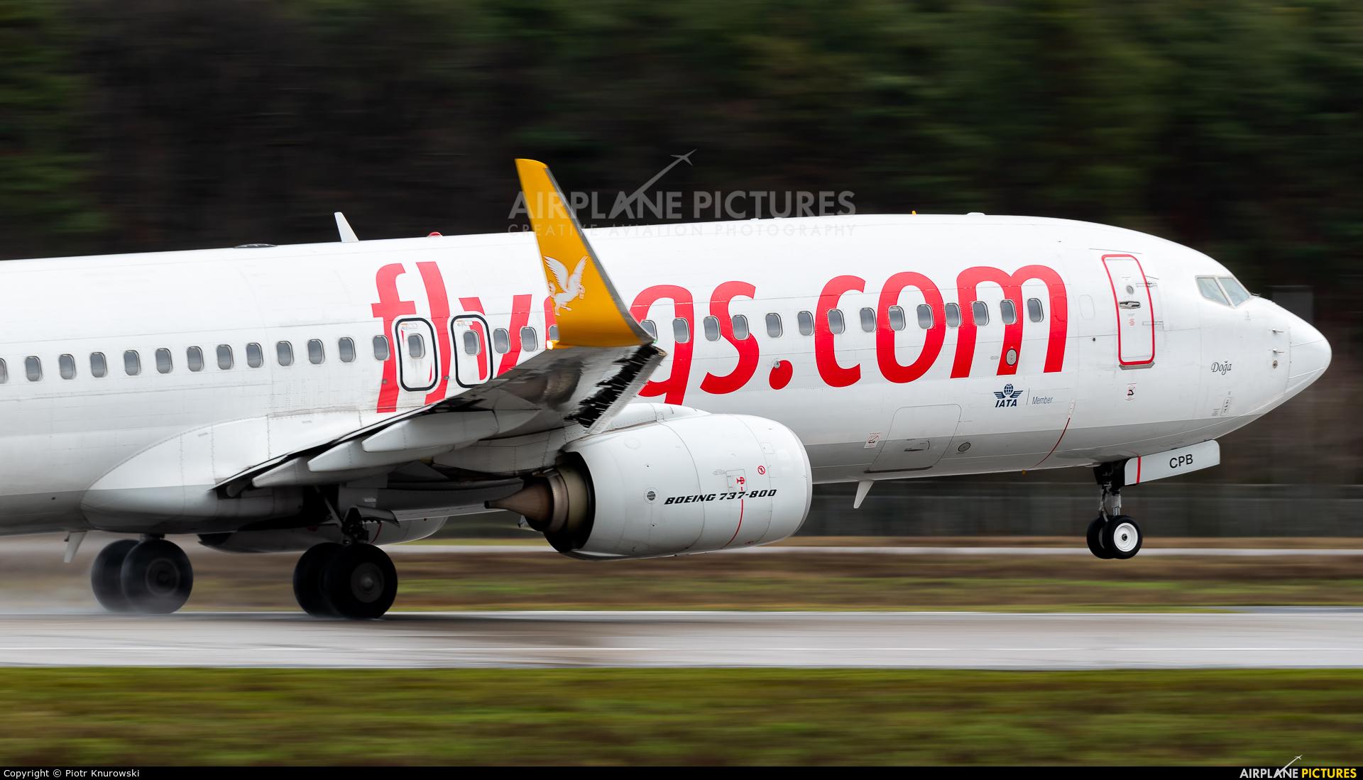 Pegasus TC-CPB aircraft at Frankfurt
