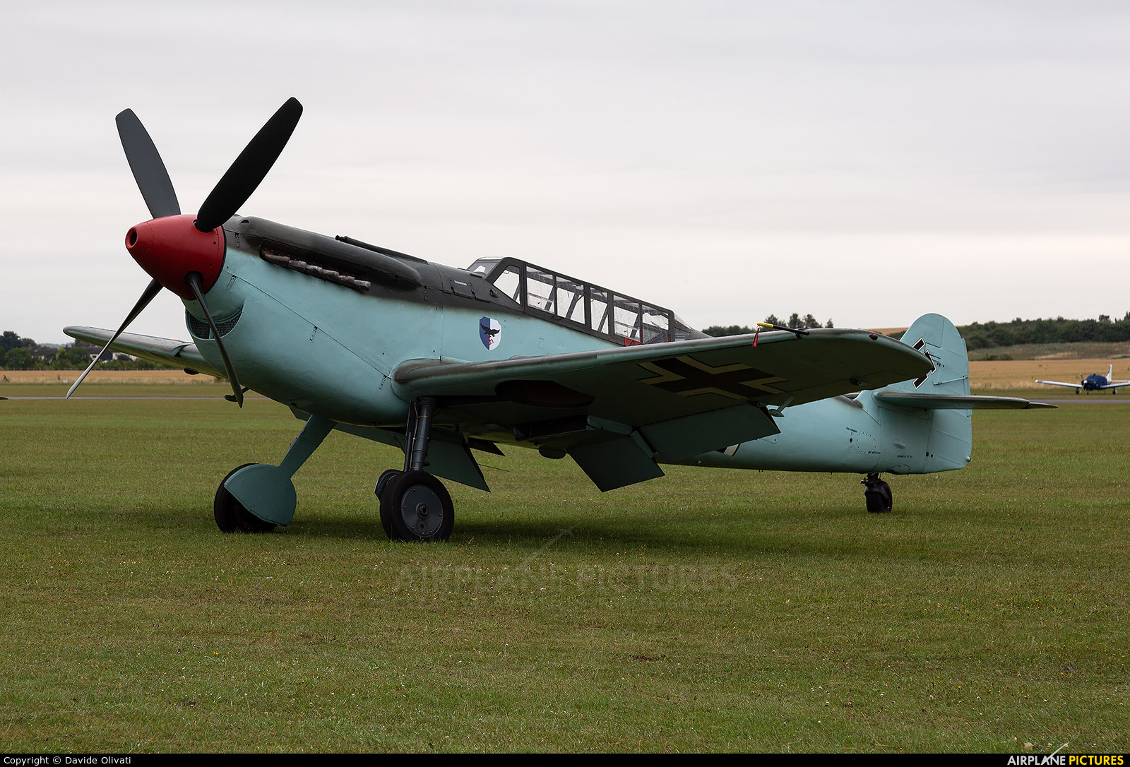 Private G-AWHC aircraft at Duxford