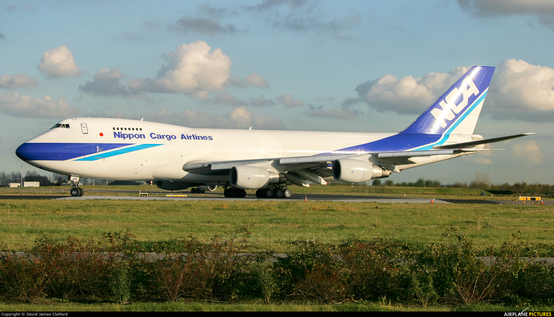 Nippon Cargo Airlines JA8188 aircraft at Amsterdam - Schiphol