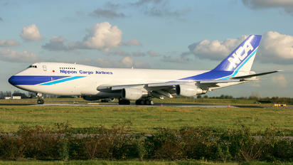 JA8188 - Nippon Cargo Airlines Boeing 747-200F