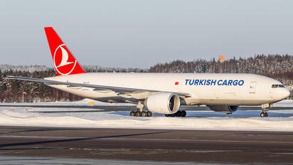TC-LJT - Turkish Airlines Boeing 777F