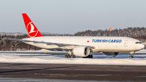 TC-LJT - Turkish Airlines Boeing 777F aircraft