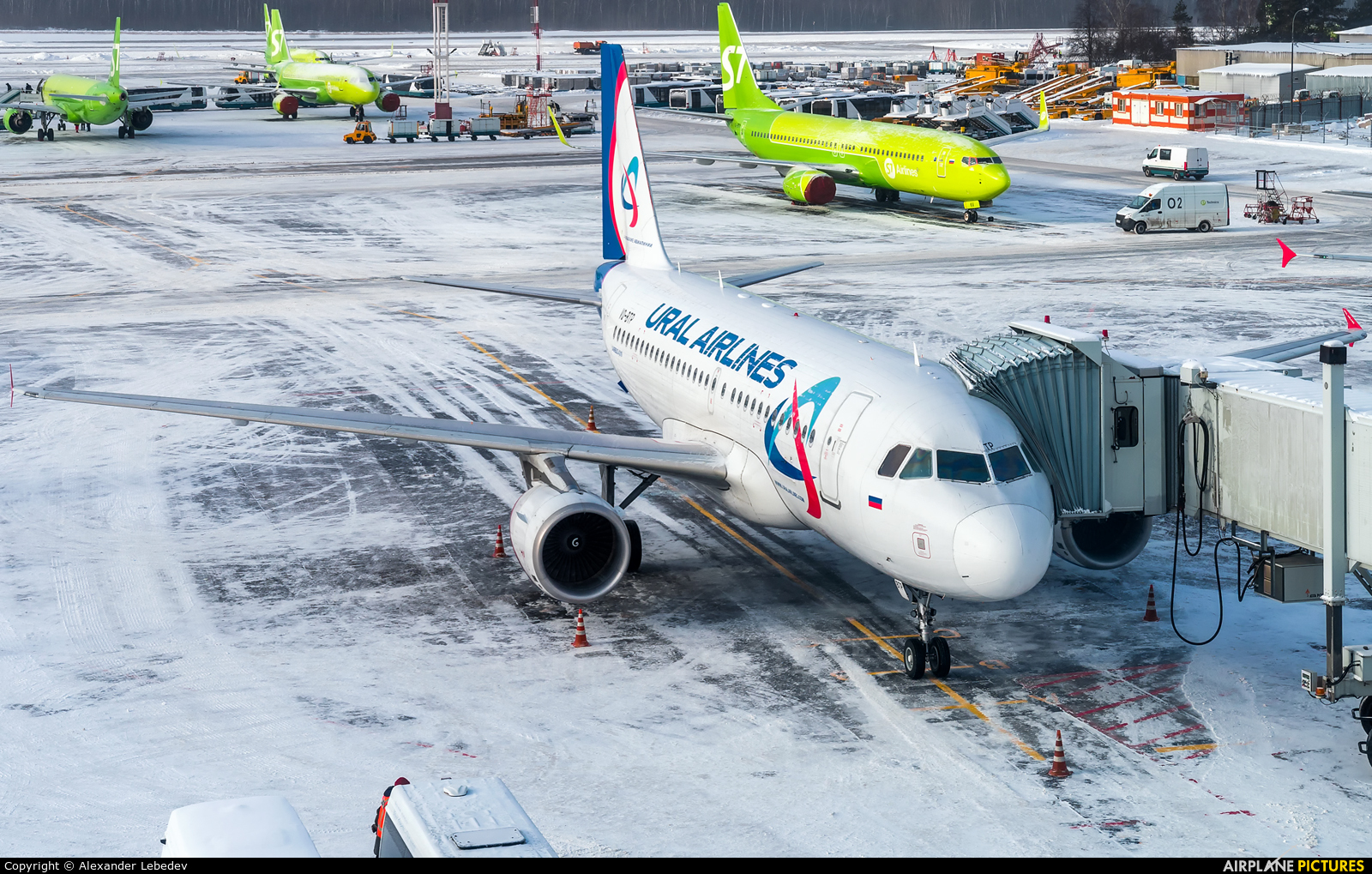 Ural Airlines VQ-BTP aircraft at Moscow - Domodedovo