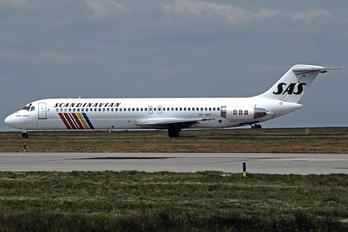 SE-DDS - SAS - Scandinavian Airlines Douglas DC-9
