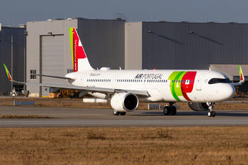 D-AVZM - TAP Portugal Airbus A321 NEO