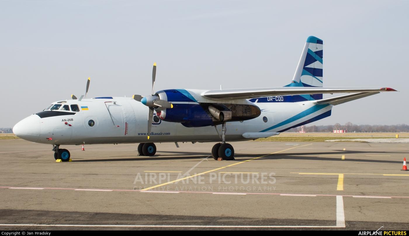 Vulkan Air UR-CQD aircraft at Ostrava Mošnov