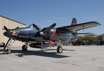 NX207F - Private Grumman F7F Tigercat