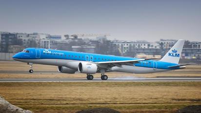 PH-NXB - KLM Cityhopper Embraer ERJ-195-E2