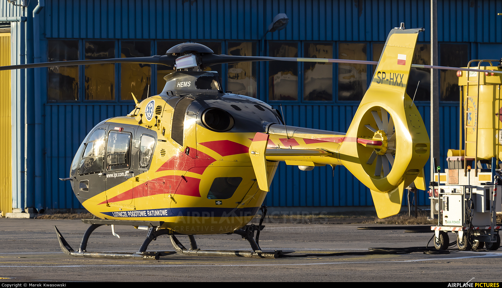 Polish Medical Air Rescue - Lotnicze Pogotowie Ratunkowe SP-HXX aircraft at Warsaw - Babice