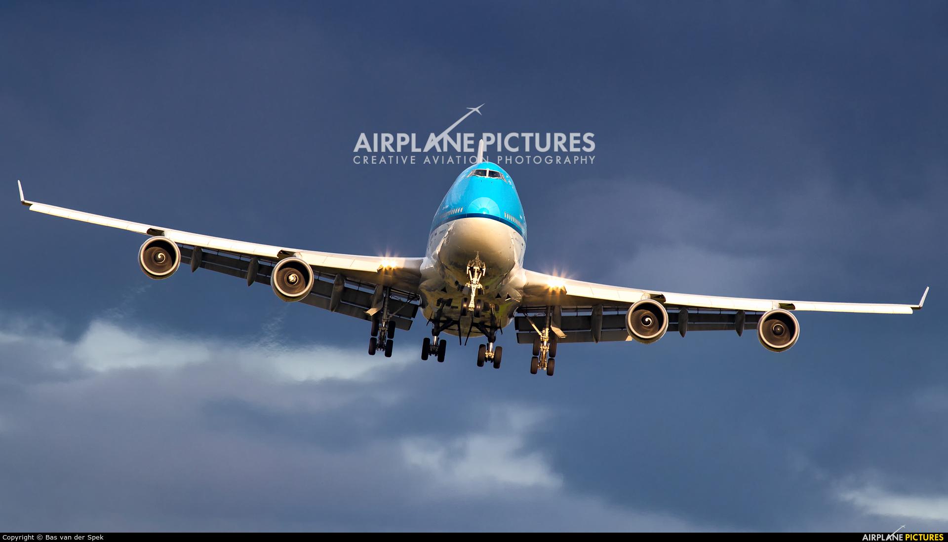 KLM PH-BFC aircraft at Amsterdam - Schiphol