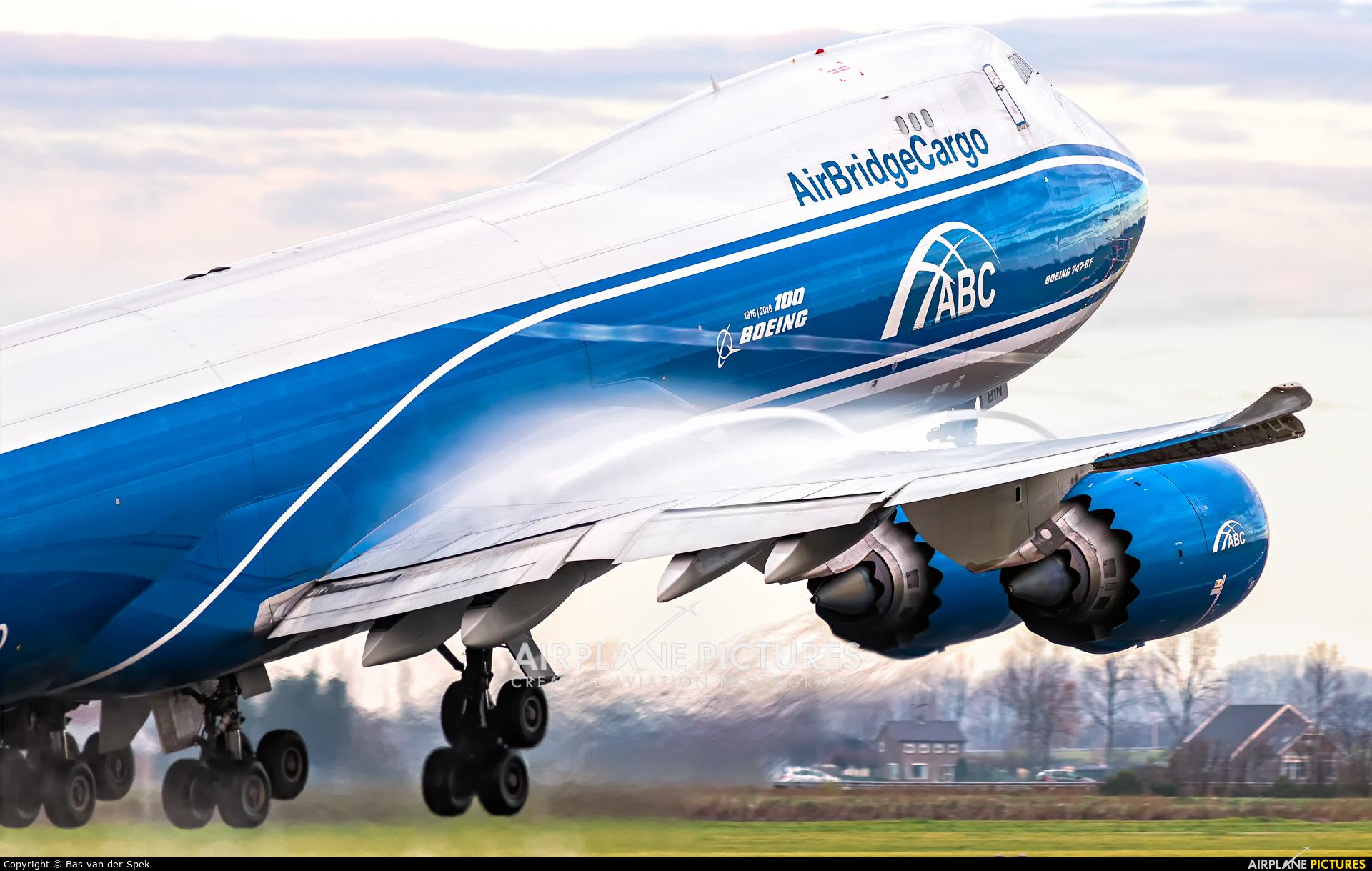 Air Bridge Cargo VP-BIN aircraft at Amsterdam - Schiphol