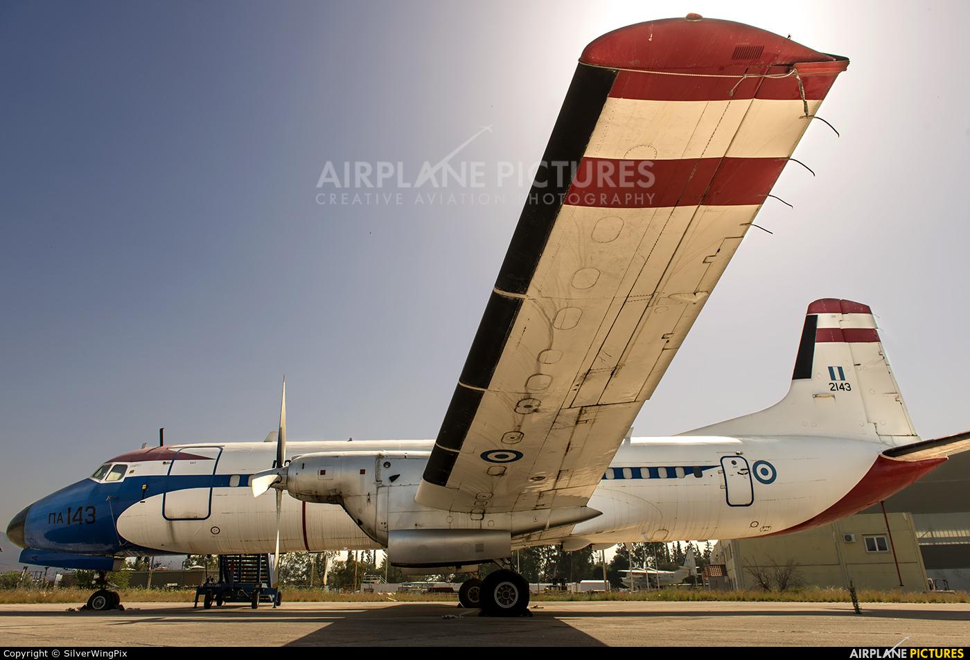 Greece - Hellenic Air Force 2143 aircraft at Elefsina