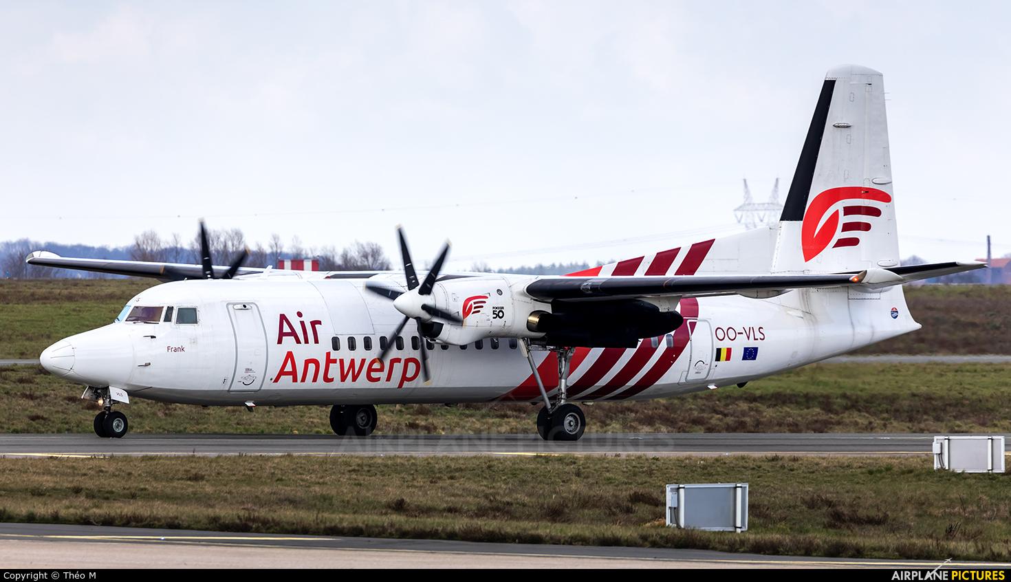 Air Antwerp OO-VLS aircraft at Paris - Charles de Gaulle
