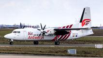 OO-VLS - Air Antwerp Fokker 50 aircraft