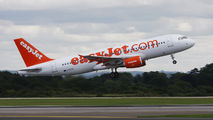 G-EZTX - easyJet Airbus A320 aircraft