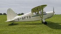 G-AFYO - Private Stinson HW-75 aircraft