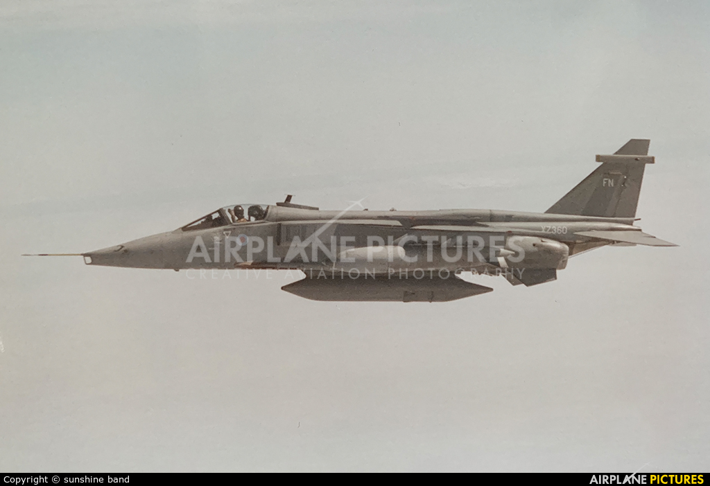 Royal Air Force XZ360 aircraft at In Flight - England